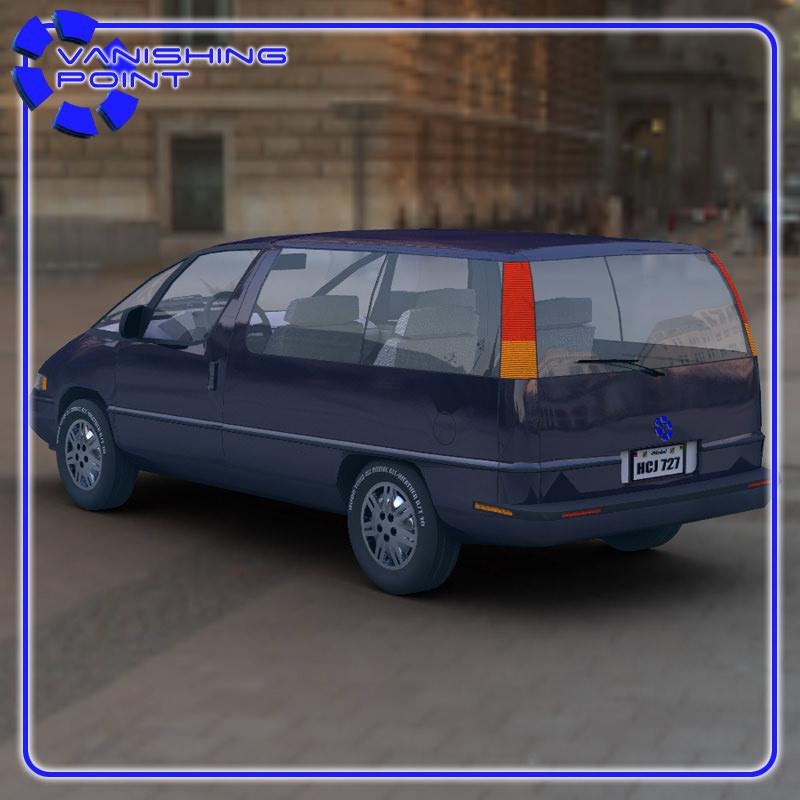 Pontiac Trans Sport en réalisation 3D Family18