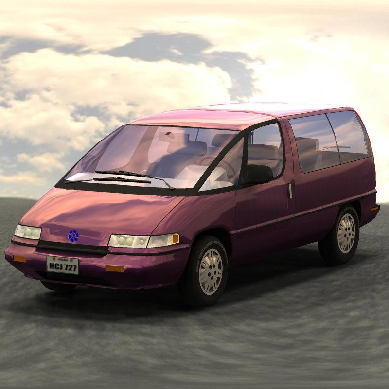 Pontiac Trans Sport en réalisation 3D Family19