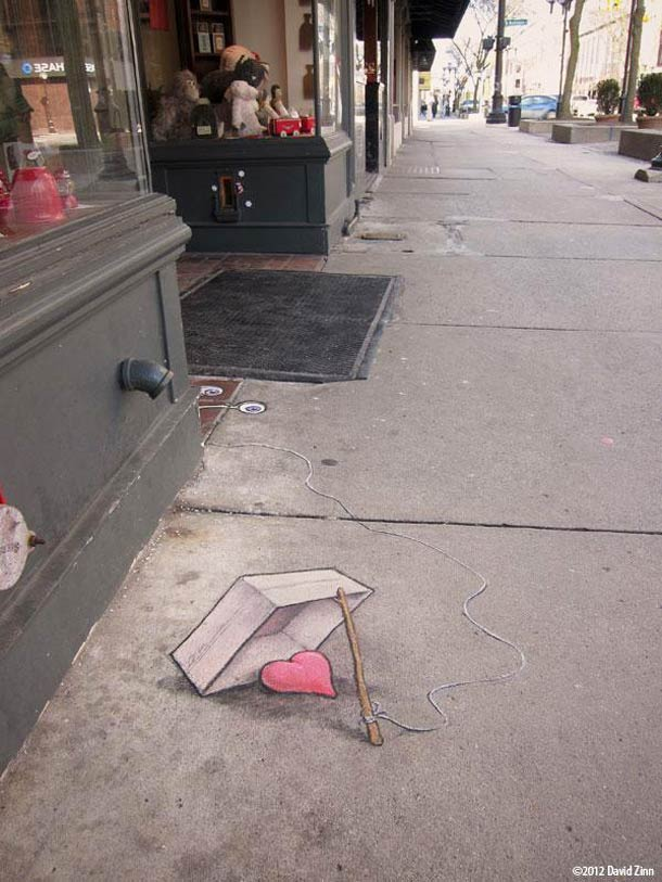 David Zinn - Street Art poétique 43d5b910