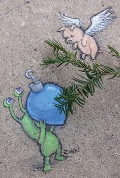 David Zinn - Street Art poétique - Page 2 48695c10
