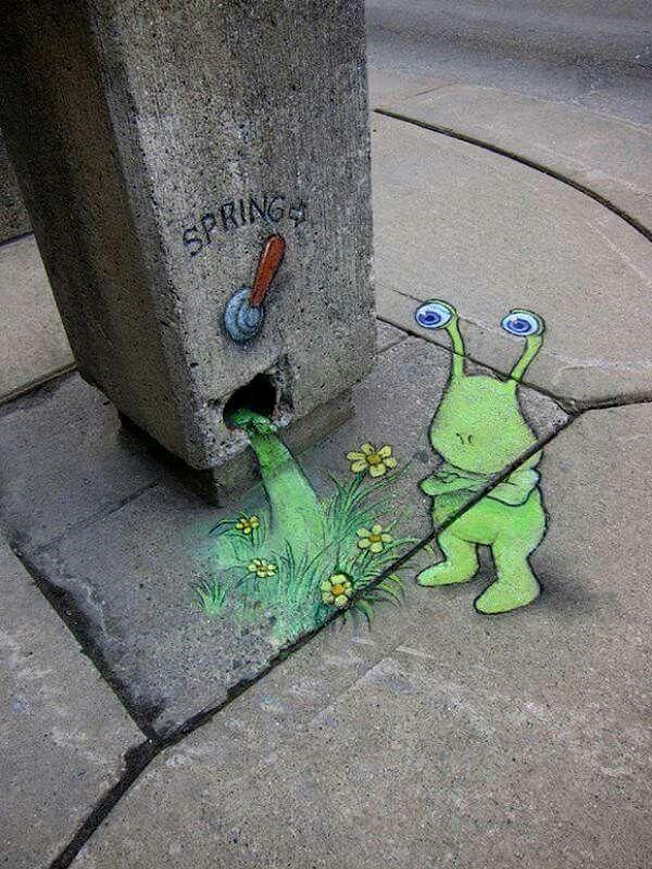 David Zinn - Street Art poétique 51978310