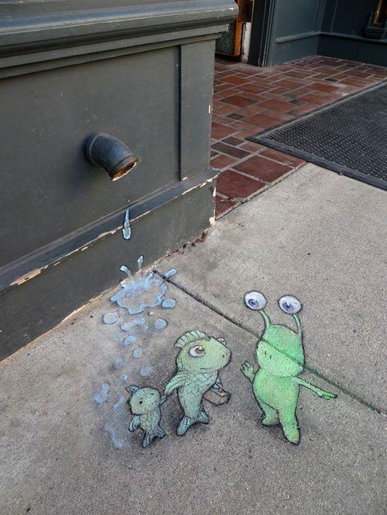 David Zinn - Street Art poétique 79ec8610