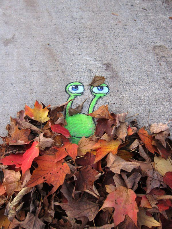 David Zinn - Street Art poétique Beced310