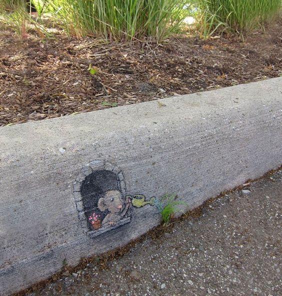 David Zinn - Street Art poétique Cfb87610