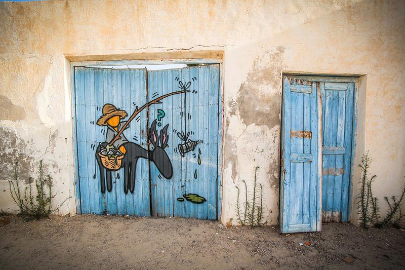Street Art à Djerba Jace_i10