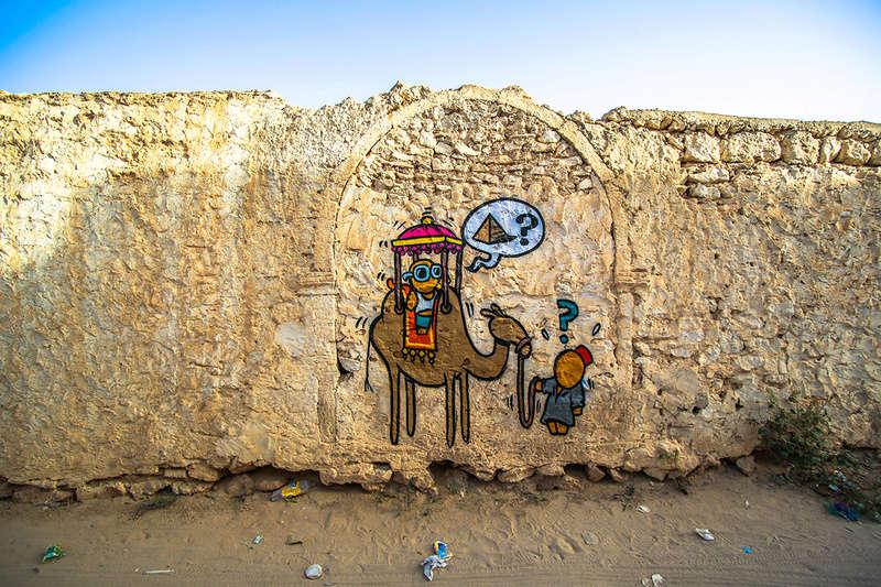 Street Art à Djerba Jace_i11