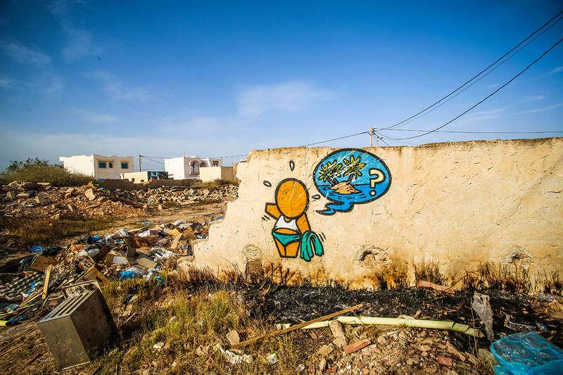 Street Art à Djerba Jace_i12