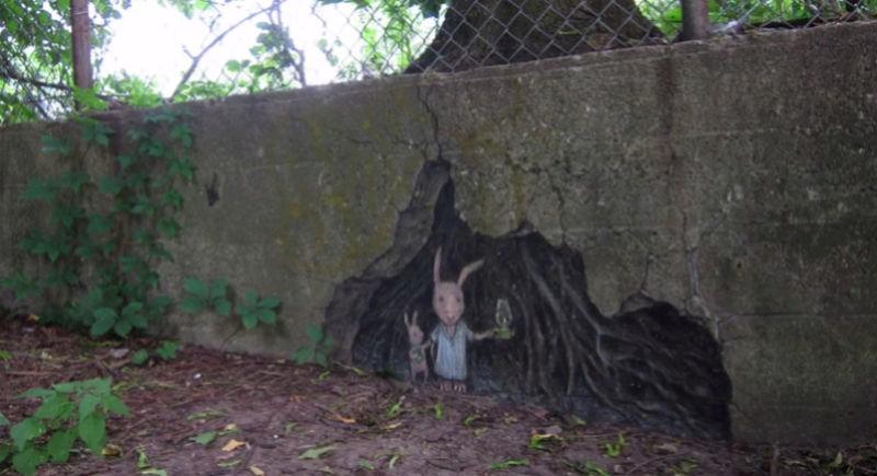 David Zinn - Street Art poétique Screen10