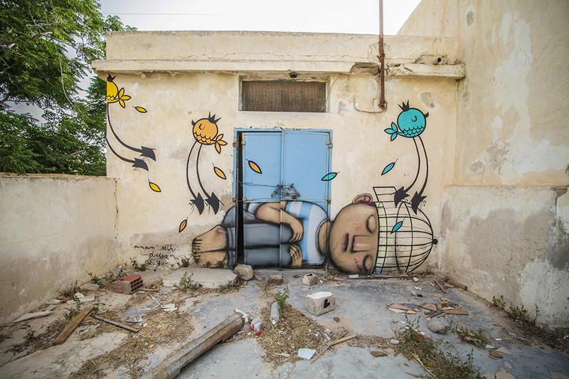 Street Art à Djerba Seth_f10