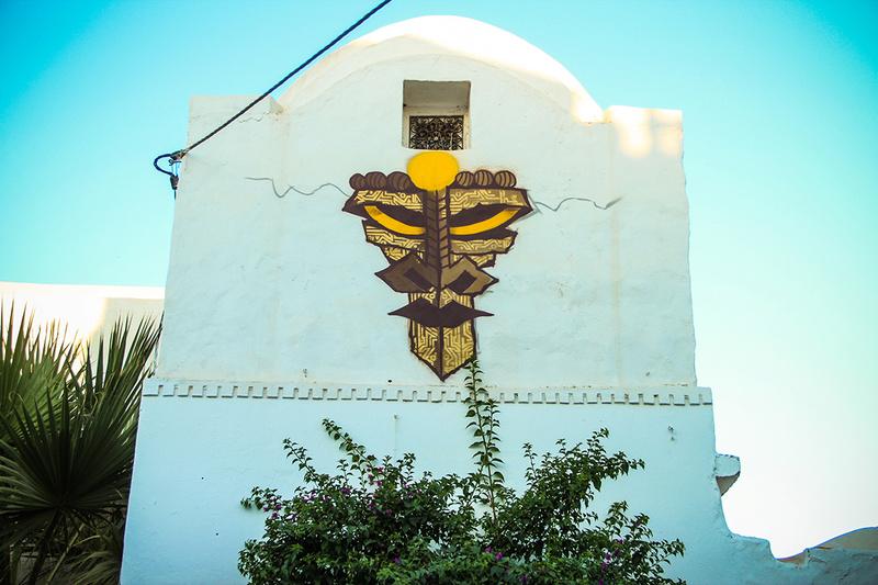 Street Art à Djerba Wisetw10
