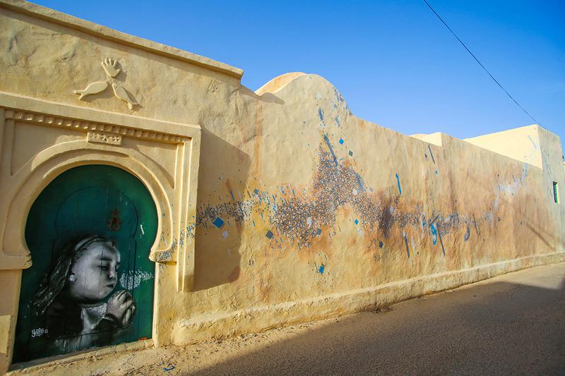 Street Art à Djerba Yazan_10