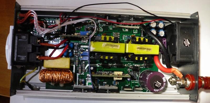 Инверторы напряжения 12-220 вольт Eieaz10