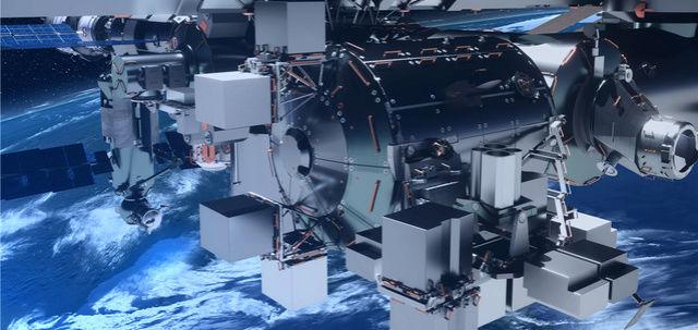 [ISS] Plateforme commerciale Bartolomeo fixée à Columbus Artist13