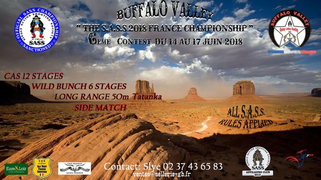 """BUFFALO VALLEY"" bulletin d'inscription  du 14 au 17 Juin 2018 Buffal11"