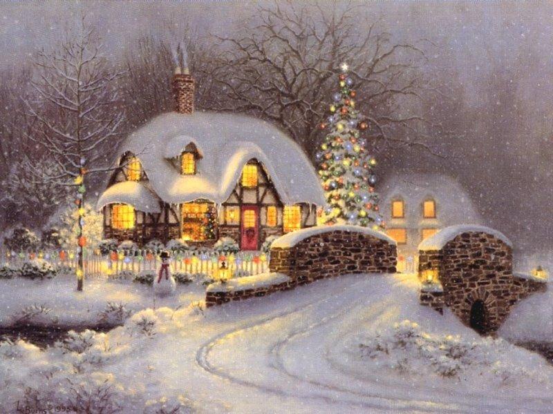 Le Noël de la Joyeuse Bouffarde Maison10