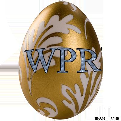 Logo WPR pour belle et beau gosse  685hgd10