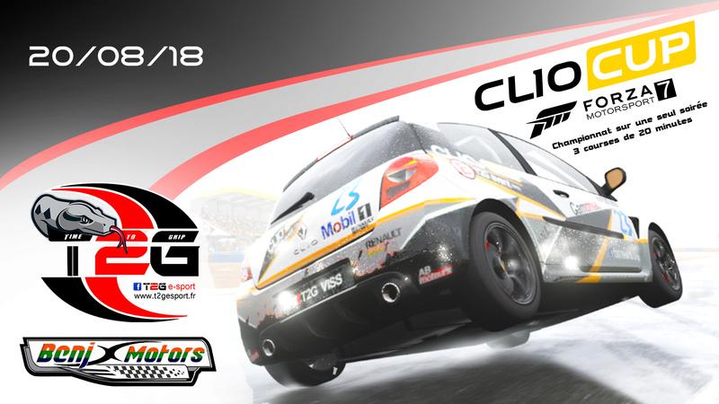 Championnat Clio Cup By T2G Affich16