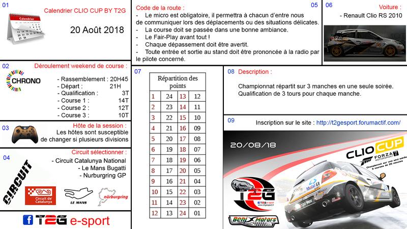Championnat Clio Cup By T2G Ryglem10