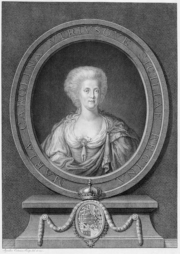 Portraits de Marie-Caroline, Reine de Naples, soeur de Marie-Antoinette - Page 2 Marie-28