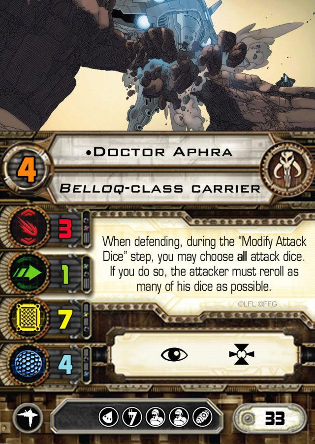 Custom Set: Doctor Aphra | Ark Angel Doctor12