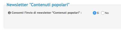 """Novità: Newsletter """"Contenuti popolari"""" Scherm32"""