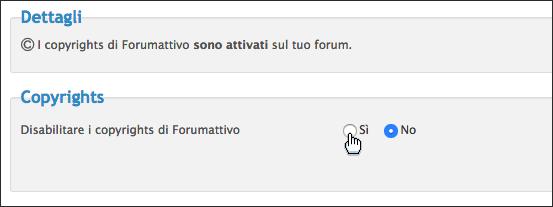 I copyright di Forumattivo Scherm54