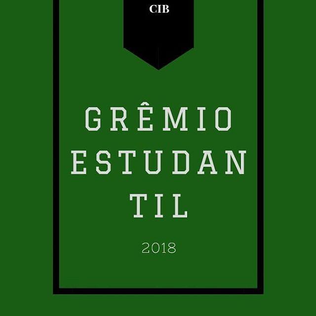 "Jornal CIB - PROJETO NOVO! ""Grêmio Estudantil 2018"" . 24327510"