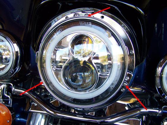 Montage de Phares LED sur Electra 1410
