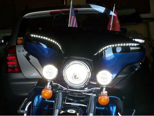 Montage de Phares LED sur Electra 1510