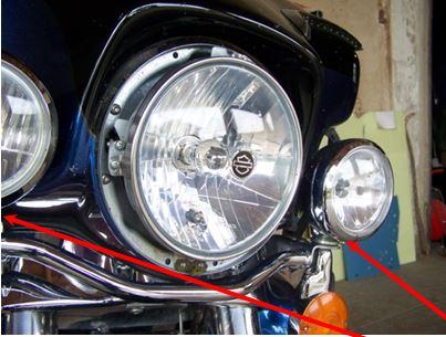 Montage de Phares LED sur Electra 210