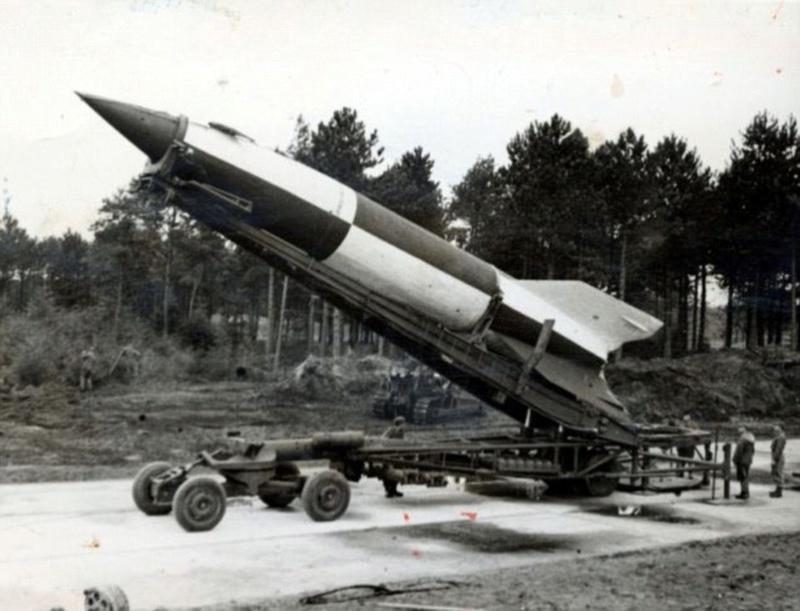 Les V-2 uniquement Allemands. V2-the11