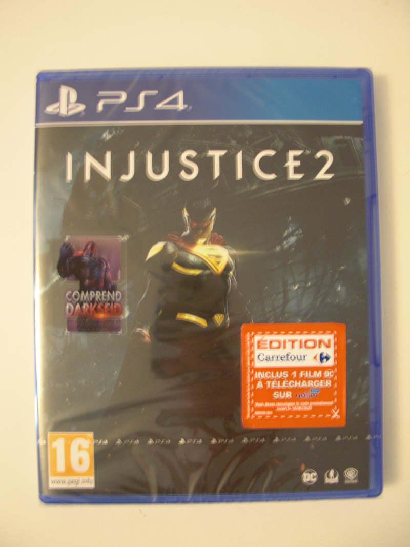 [ECH] Injustice 2 PS4 Neuf Cimg0722