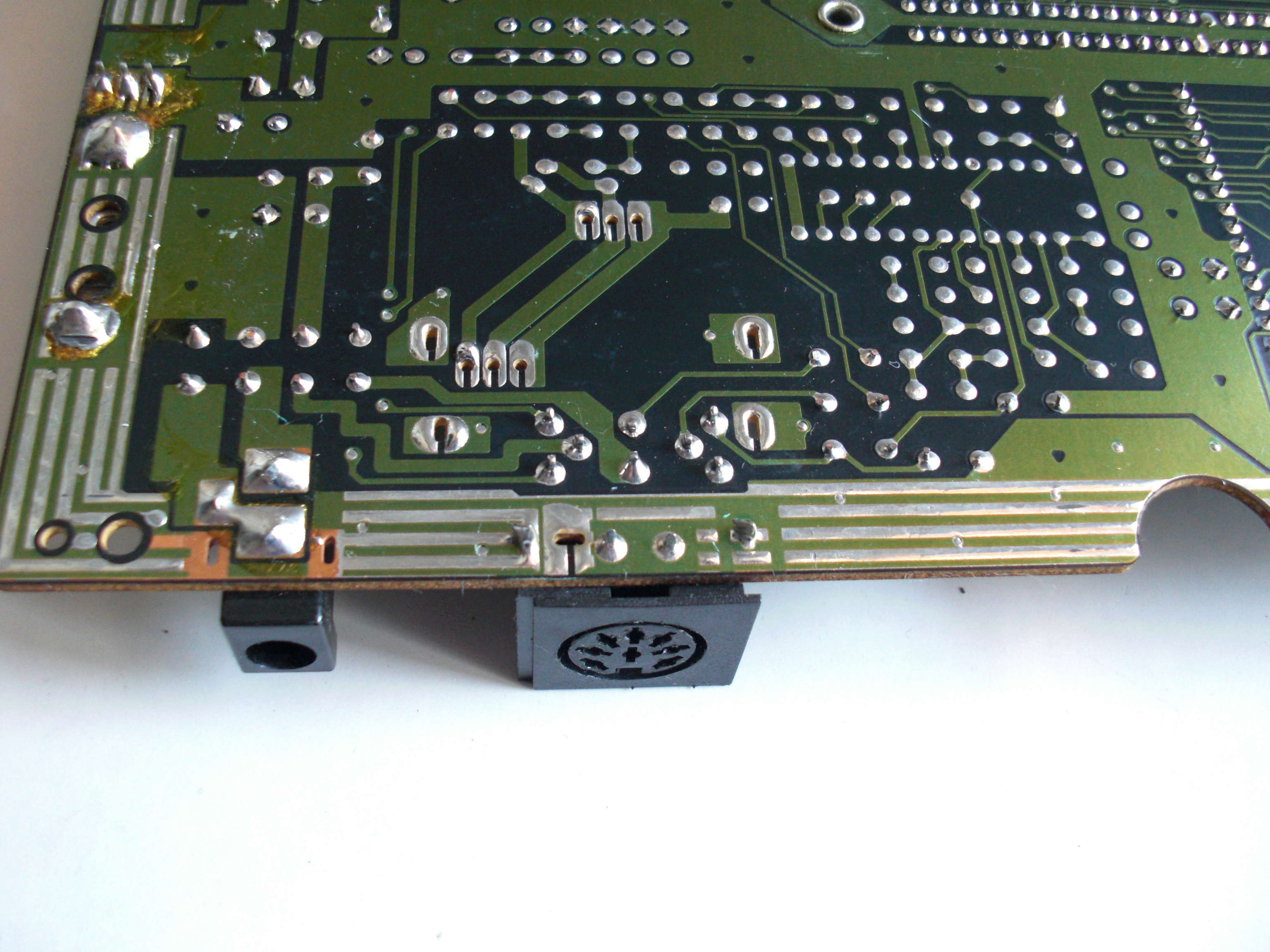 Ecran Vert sur Master System Cimg1011
