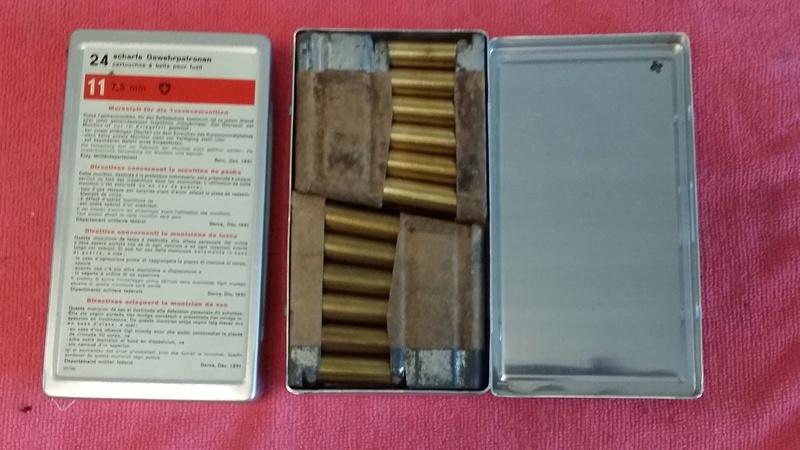 GP11 - Munition personnelle du soldat Suisse  (année 50) Boite_10