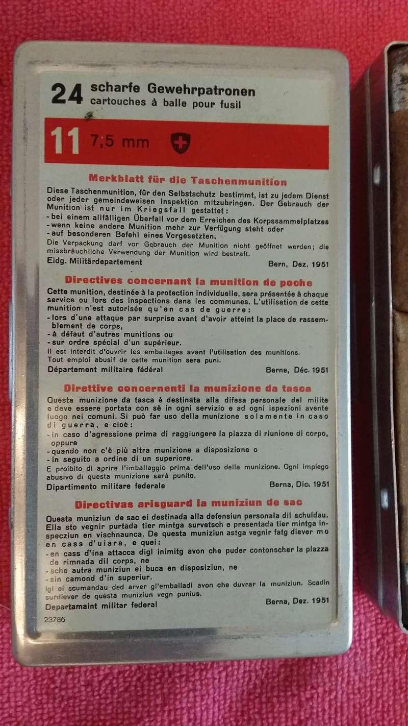 GP11 - Munition personnelle du soldat Suisse  (année 50) Boite_11