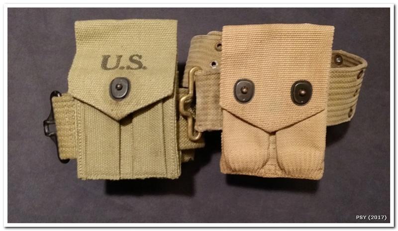 Holsters et ceinturons WWI et WWII Ho191120