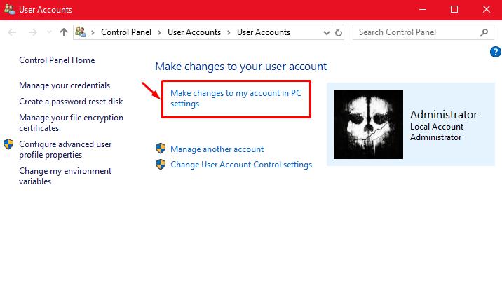 "The hidden ""Super Administrator"" account under Windows 10. Screen15"