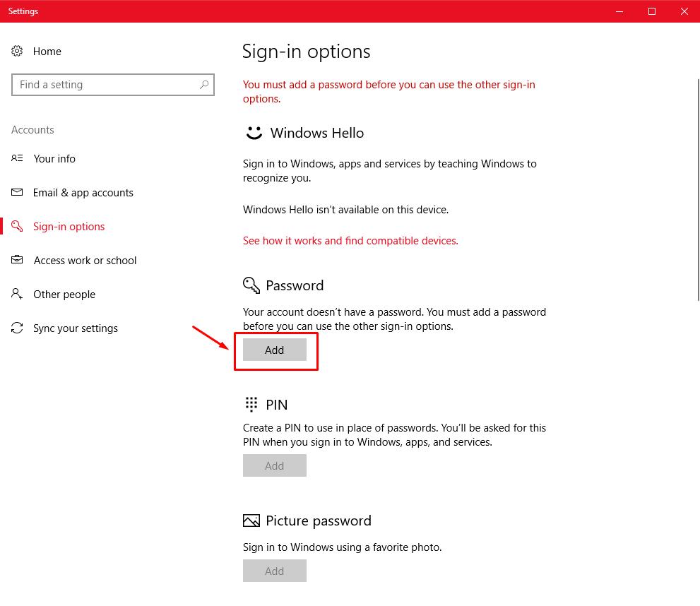"The hidden ""Super Administrator"" account under Windows 10. Screen16"