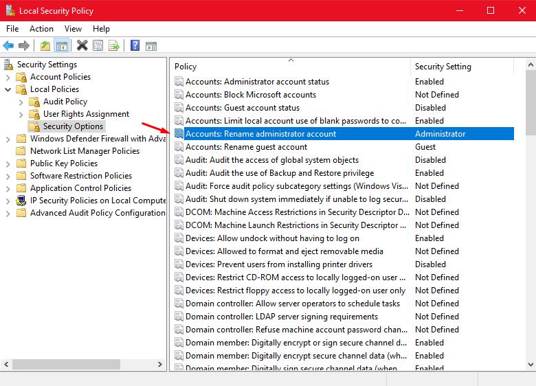 "The hidden ""Super Administrator"" account under Windows 10. Screen18"