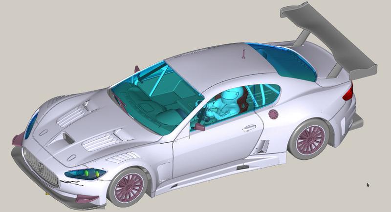 La Maserati Granturismo GT3... torna in pista! Gt3-110