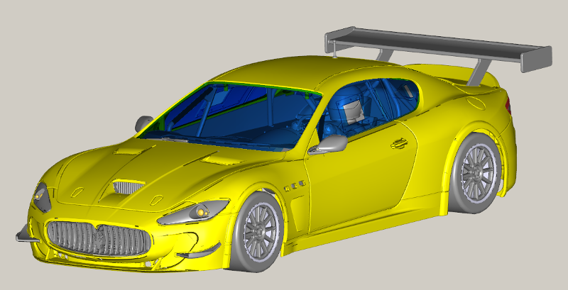 La Maserati Granturismo GT3... torna in pista! Gt410