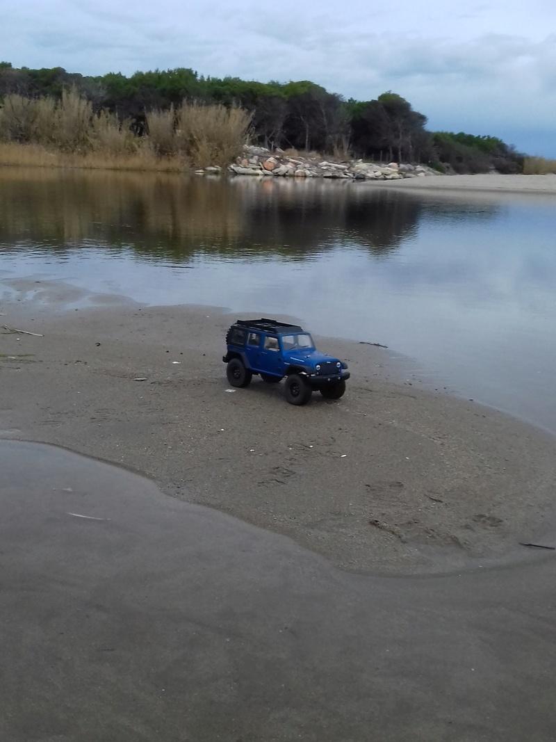Conversion de mon ECX d'empattement 25cm en un jeep wrangler 5p d'empattement 31cm 20180111