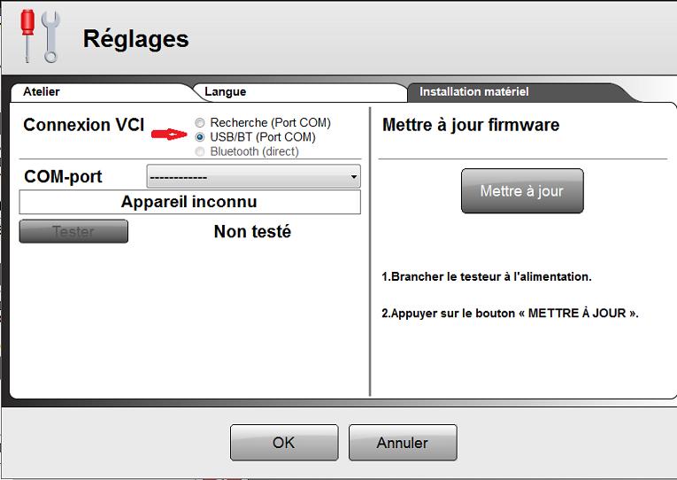 Besoin d'aide pour multidiag pro + Captur50