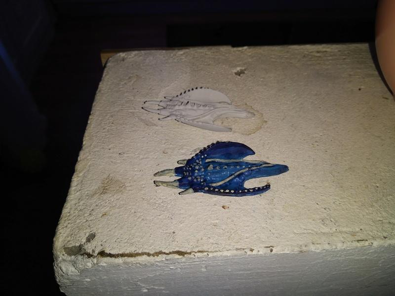 quels matériaux pour moulage blue stuff Img_2211
