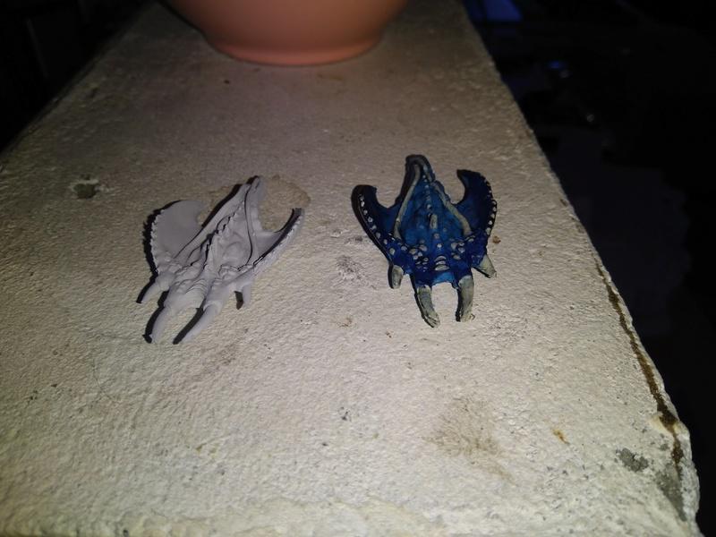quels matériaux pour moulage blue stuff Img_2212