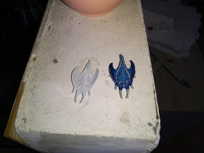 quels matériaux pour moulage blue stuff Img_2213