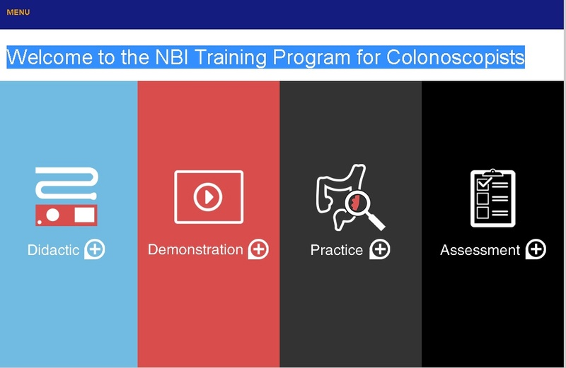 Welcome to the NBI Training Program for Colonoscopists Sem_ty11