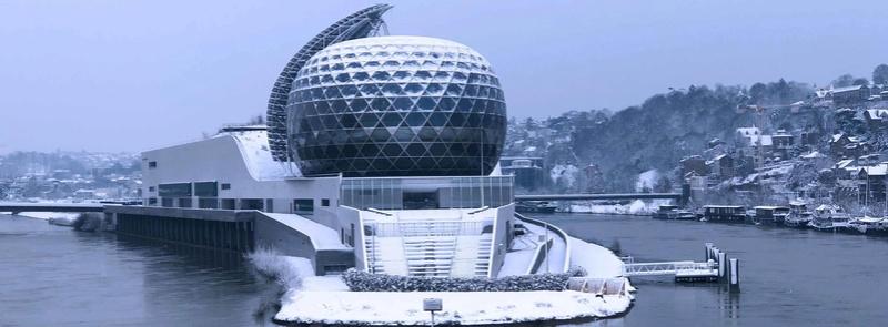 Le quartier sous la neige 27913310