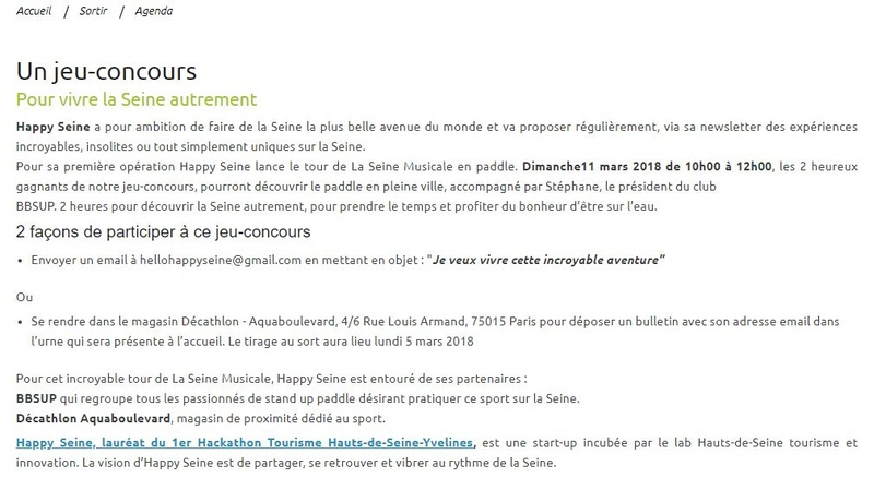 Animations d'Happy Seine Clipb164
