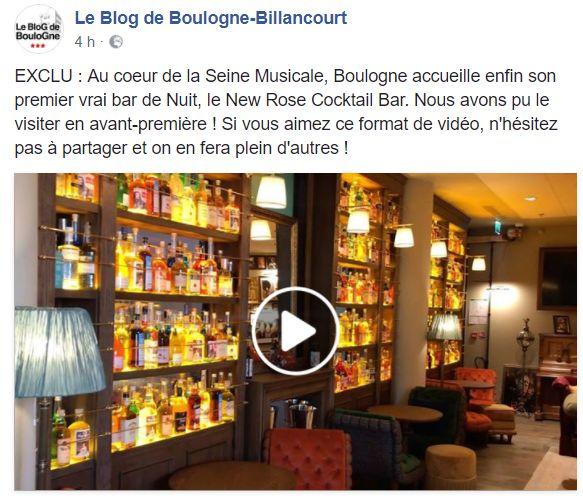 New Rose Cocktail Bar Clipb178